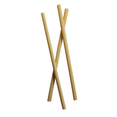 Sugrör av bambu