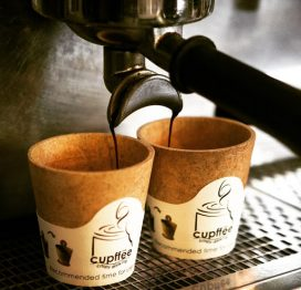 Cupffee - ätbar kaffekopp, espresso