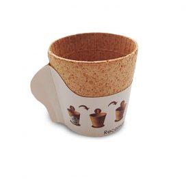 Ätbar kaffekopp från Cupffee